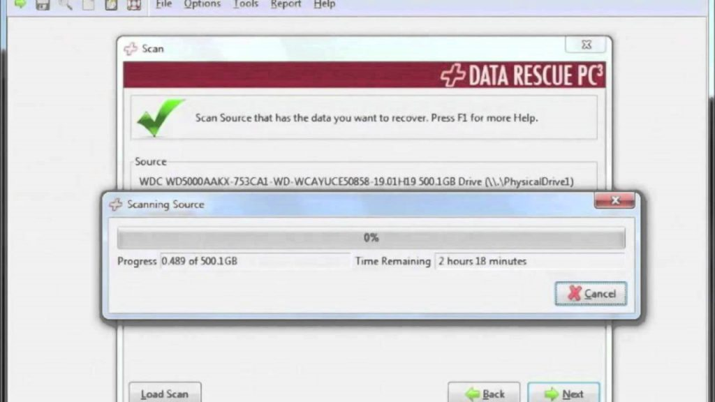 Data Recuse PC3 Quick Windows 10 Data Recovery