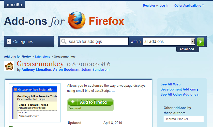Scribd documents firefox