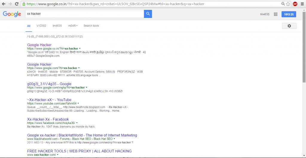 google secrets 2