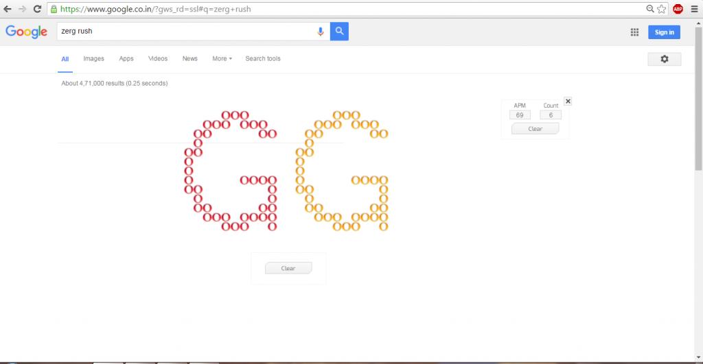 google zerg tips