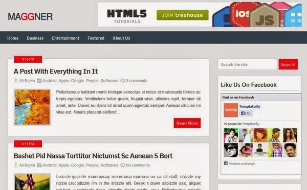 responsive blogger templates
