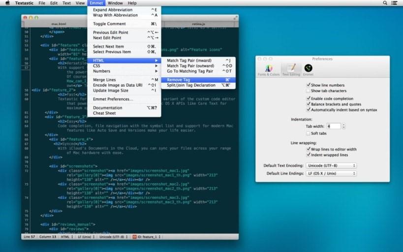 Best Text Editors for Mac 7