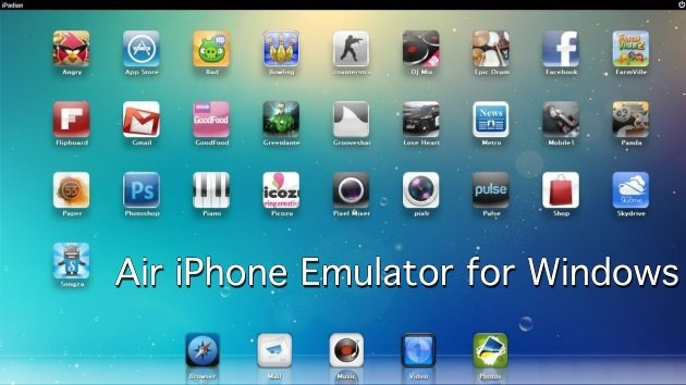 iOS Emulator of Windows 3