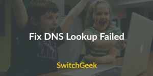 fix-dns-lookup-failed