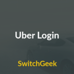 Uber Login – Partnership, Register and View Dashboard