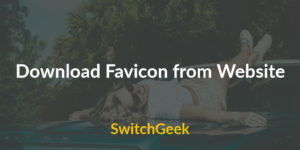 Download Favicon from Website
