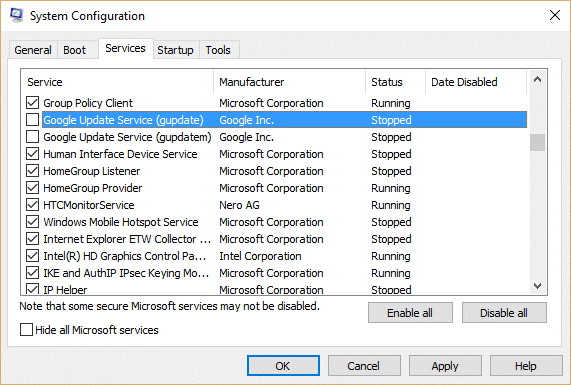 Fix System Service Exception Error in Windows 10