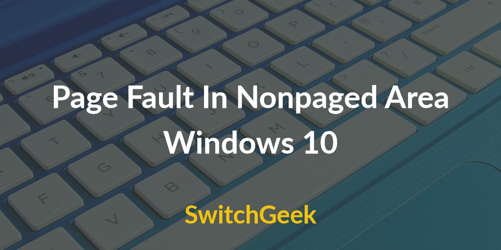 Page_fault_in_nonpaged_area