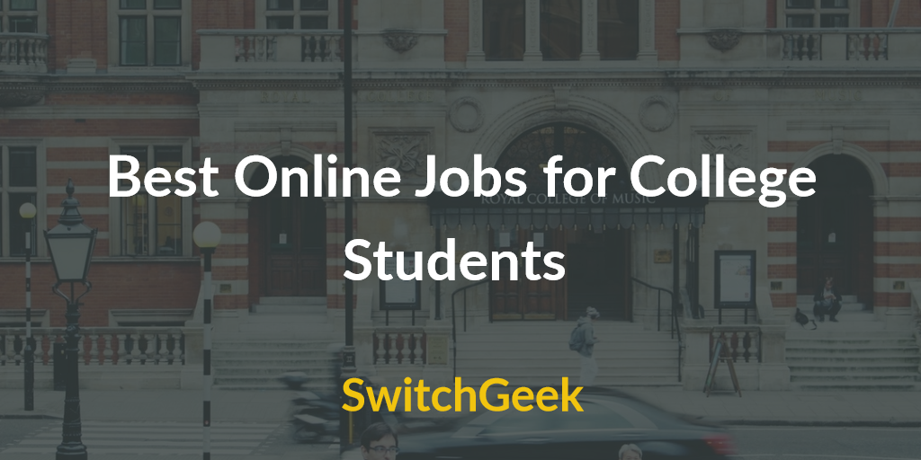 online typing jobs part time jobs for college students