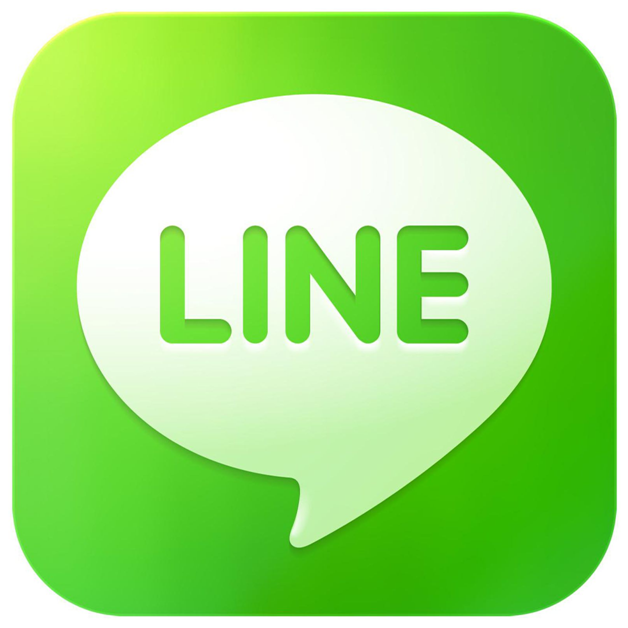 Line app for chat