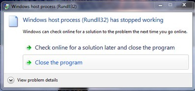 Windows Host Process Rundll32