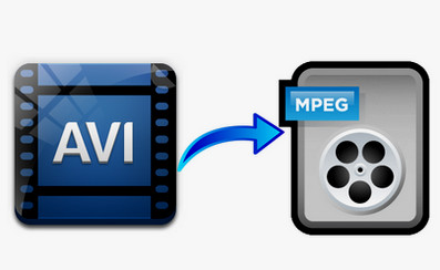 Convert AVI file into MPEG